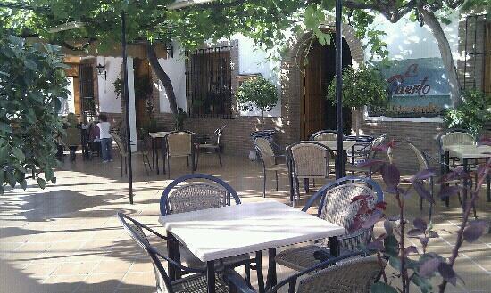 Restaurante El Puerto: Terraza