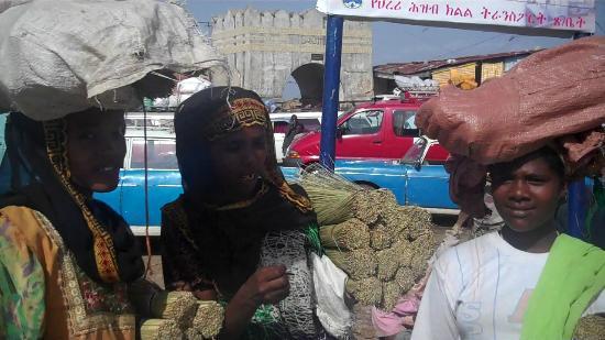 Ethiopian women in Harar