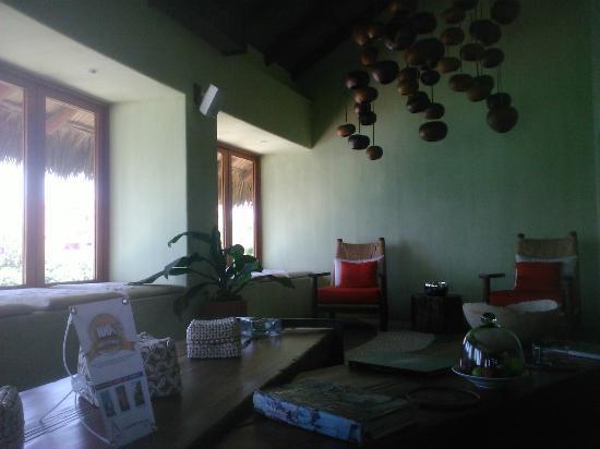 Capella Ixtapa: El lobby lleno de detalles