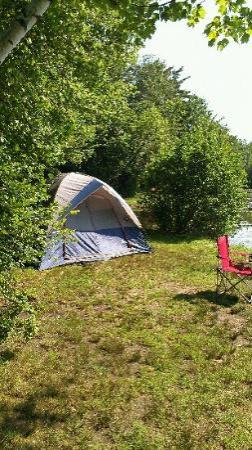 Prospect Mountain Campground: our site