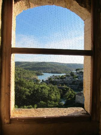 Chateau d'Esparron : View from the tower