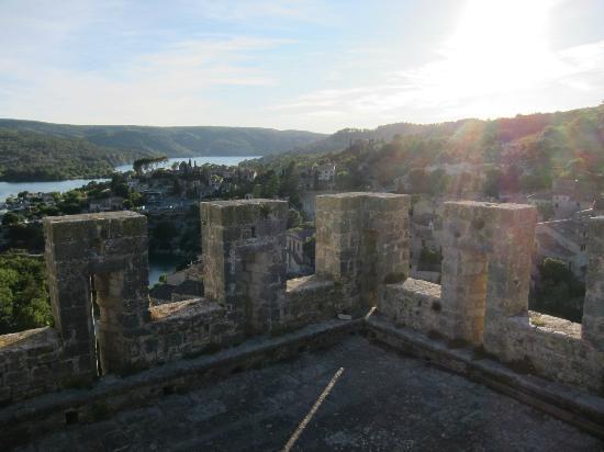 Chateau d'Esparron : Castle Tower