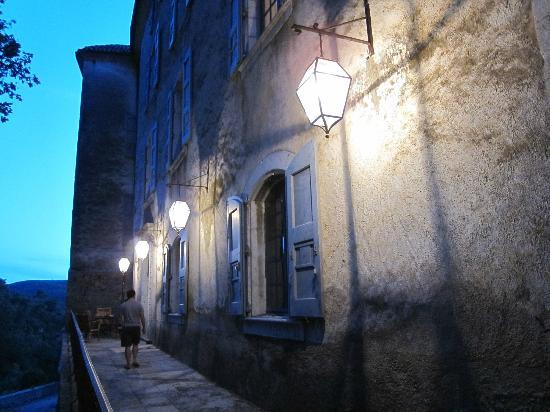 Chateau d'Esparron : a beautiful night...