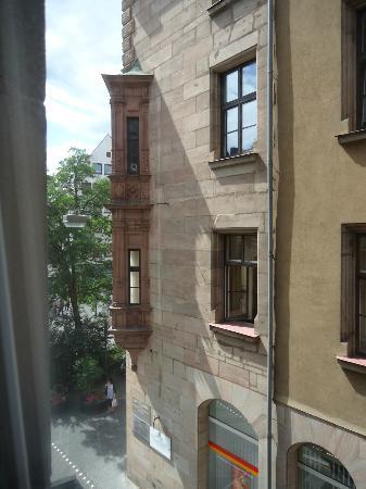 Hotel Drei Raben: a vista da minha janela