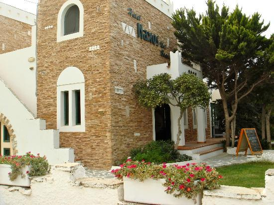 Naxos Beach Hotel: front of hotel