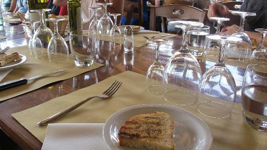 Fattoria Poggio Alloro: Restaurant