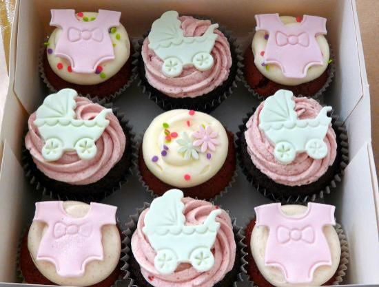 Sugar Daze: Baby Shower Cupcakes