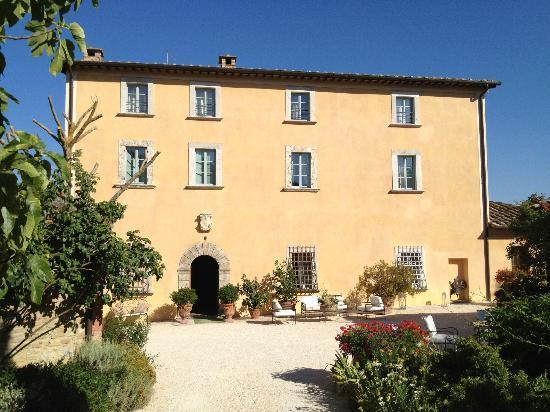 Villa Cicolina, Front View