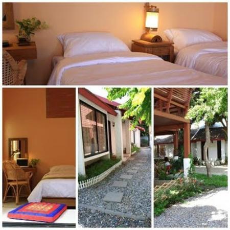 Baan SongJum Wat Ket: Twin bed room