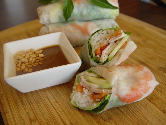 Saigon Cafe Bistro LLC: #2 Spring rolls