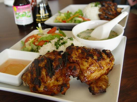 Saigon Cafe Bistro LLC: #6 Charbroiled Marinated Chicken (Popular)
