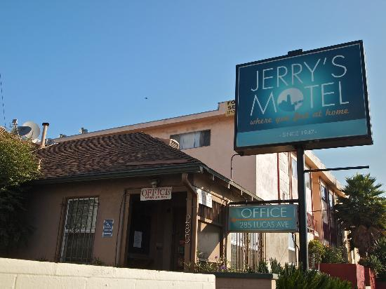 Jerry's Motel in Downtown Los Angeles, CA.