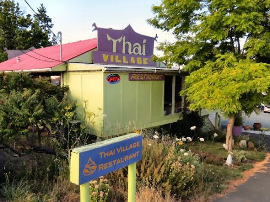 Thai Village: The view from the street