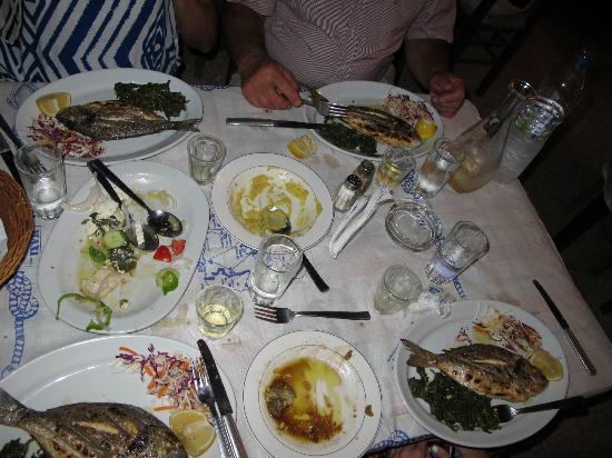 Hotel Matina: Gallini Fish Taverna...OPA!