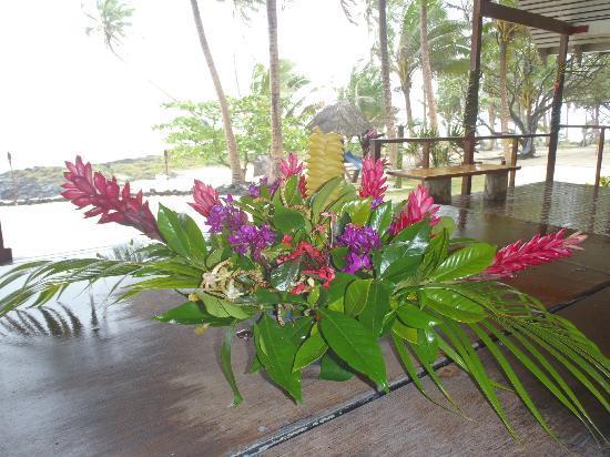 Sa'Moana Resort: Table decorations