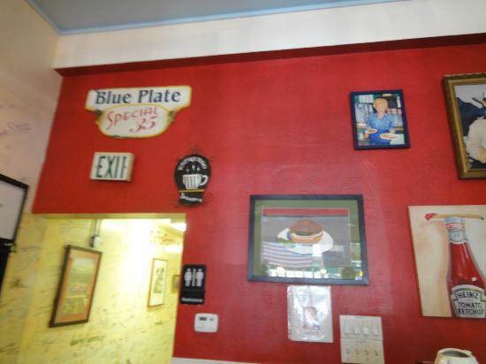 Cafe Sarafornia: カフェ