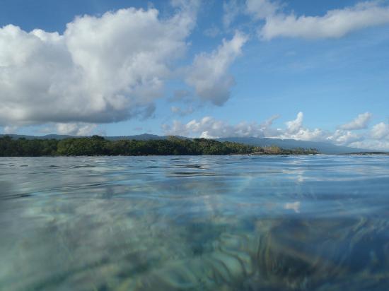 Sa'Moana Resort: Lagoon near resort