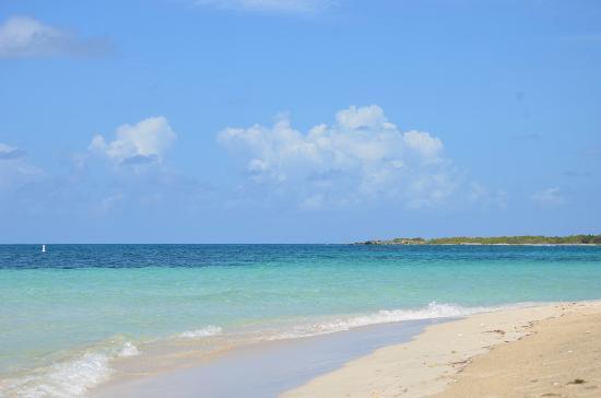Blue Beach: view