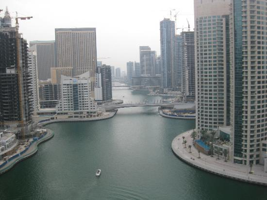 Dusit Residence Dubai Marina: view from living/terrace