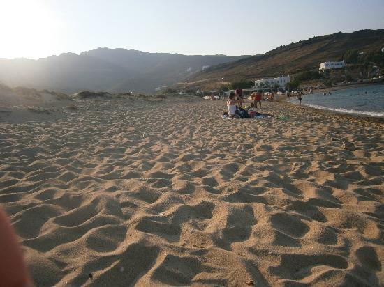 Panormos Village: beach