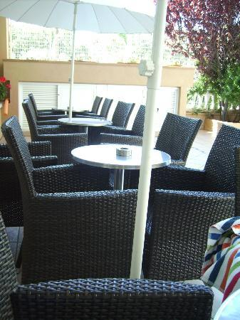 Hotel Volga: Am Pool