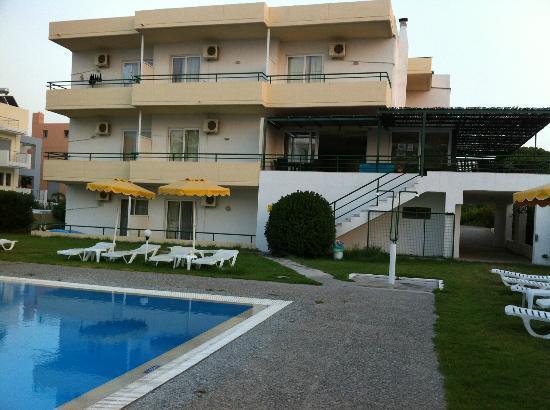 Anita Apart Hotel: view