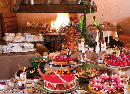 Buffet de desserts (4 fois par semaine)