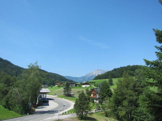 Kranzbichlhof: Aussicht aus den westseitig gelegenen Zimmern
