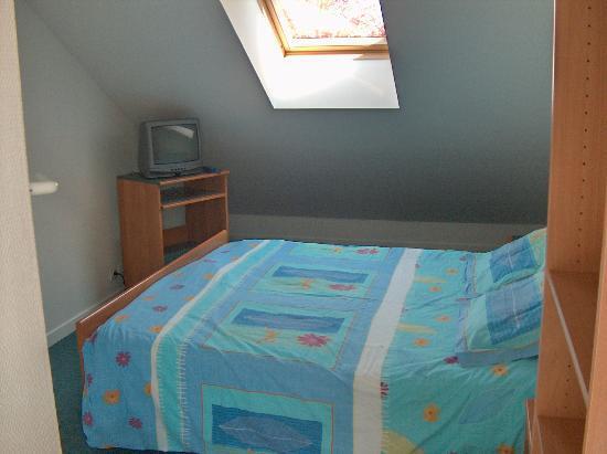 Berck, France: chambre mansardée