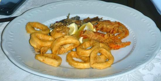 L'altra Risacca : fritto misto di pesce