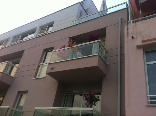 Adoral: Balcony of room b1