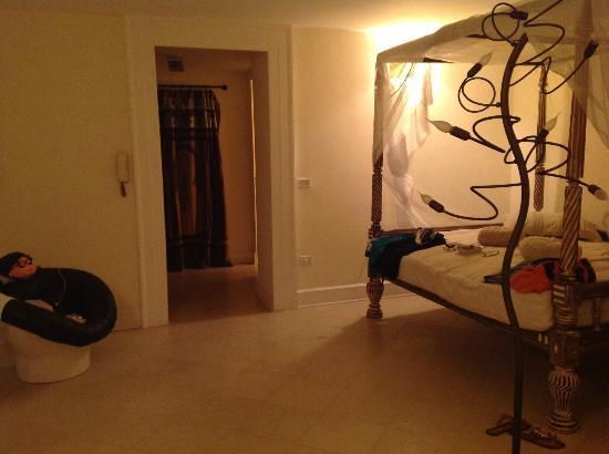 Casa Bormioli: ingresso camera