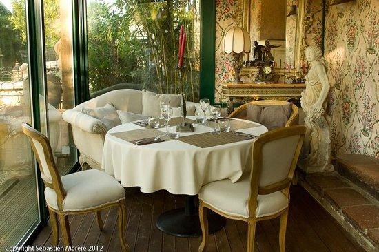 Le Massou : la veranda du Restaurant