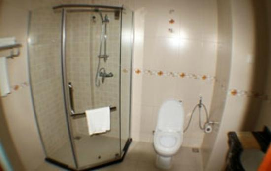 Silver Palm Hotel: Shower