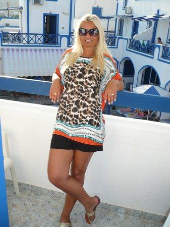 Roula Villa: I'll be back.