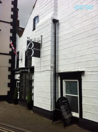 """Becket's Restaurant & Grill: """"Becket's"""", Knaresborough"""