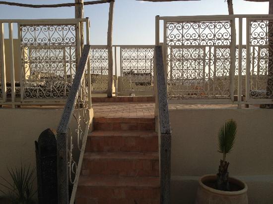 Riad Safir: Terrasse