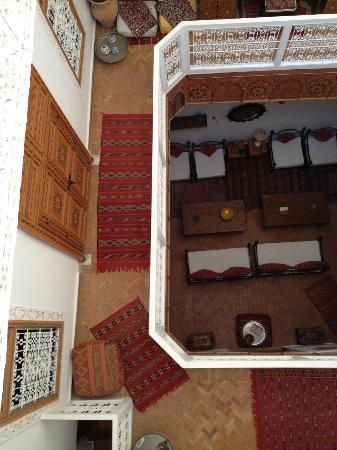 Riad Safir: Vue de la terrasse