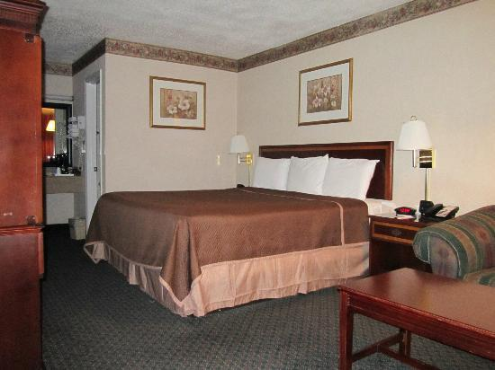 Americas Best Value Inn - Fredericksburg North: Non-Smoking King