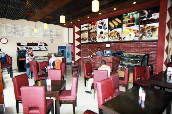 Cafe Barrista : Dining area
