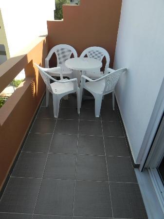 Elounda Sunrise Apartments: TERRAZA