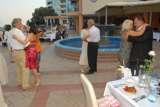 Astera Hotel & Spa: wedding party in the hotel