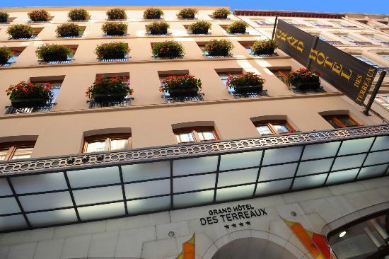 Grand Hotel des Terreaux: Façade GHT