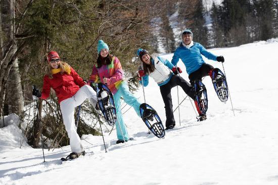 KinderHotel Post: Schneeschuhwandern