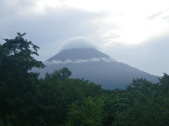 Finca del Sol: Vue volcan