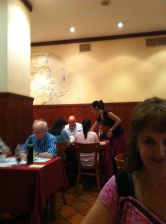 La Taberna de los Mundos SL.: buena comida!!!!