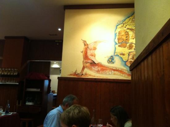 La Taberna de los Mundos SL.: paredes