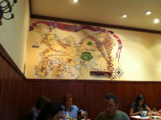 La Taberna de los Mundos SL.: Asi estan las paredes