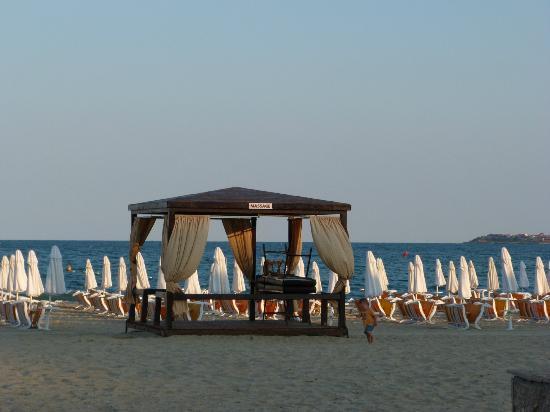 DIT Evrika Beach Club Hotel: beach