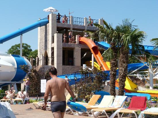 DIT Evrika Beach Club Hotel: slides